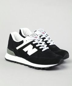 New Balance 576-Black/White.