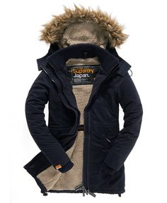 Superdry Coupe-vent à capuche Super