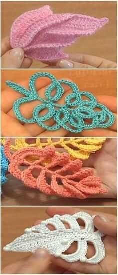 Novas ideias de crochê