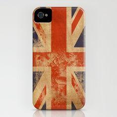 United Kingdom Flag iPhone Case $35