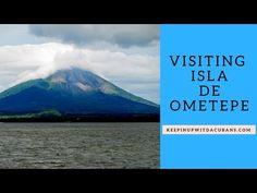 The Ferry Ride From San Jorge to Isla de Ometepe On Lake Nicaragua