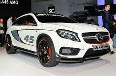 Mercedes-Benz GLA45 AMG Concept Takes a Stand at 2013 L.A. Show - Motor Trend WOT