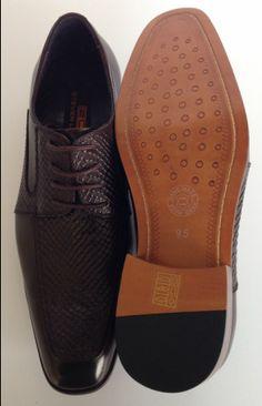 72103d14e0fd Steven Land Dark Brown Oxford leather Dress Shoe SL104-062 Genuine Hand  Made Leather Shoe