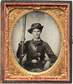 ca. 1860's, [portrait of a Union solider]