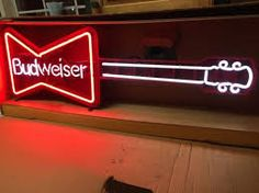 Image result for budweiser neon sign
