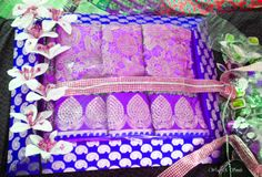 Trousseau Packing by Wrap A Smile ! https://www.facebook.com/WrapASmile #Weddings #indianweddings #color #fun #bling #blush #prettybrides