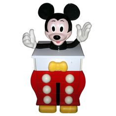Check out the deal on 1980s Mickey Mouse Commode at Eco First Art