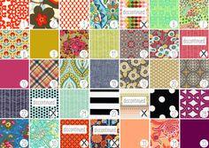 Fabric Samples for [custom] Better Life Bags @Christina Childress & <3 love them!