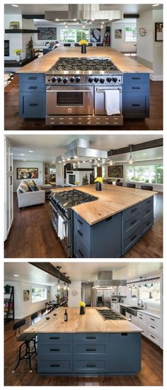 Beautiful! Find out how this Bluestar Kitchen Design Winner created this modern look for his fabulous kitchen!