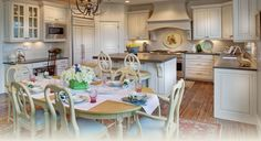 Home is where the heart is... so be sure to accommodate plenty of seating in the dinning room.