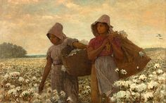 Winslow Homer, The Cotton Pickers, 1876, Los Angeles County Museum of Art