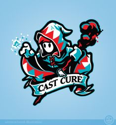 http://winterartwork.tumblr.com/post/62864432743/cast-fire-cast-cure-hurt-or-heal-which