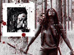 Michonne the warrior