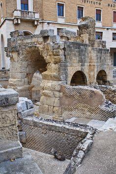 Ancient Ruins - Lecce, Apulia, Italy