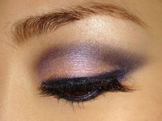 Makeup Tutorial: Purple Smoky Eye Makeup Look. Try with any purple/pink shadow duo.