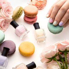 Happy #FirstDayOfSpring! Time to break out the sweetest pastels you've got.   #Sephora #nailpolish