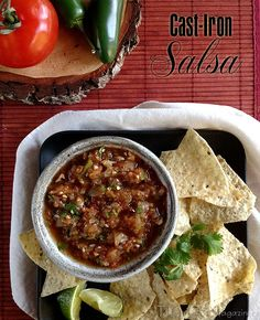 Cast-Iron Salsa