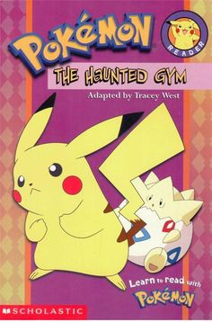 Pokemon - The Haunted Gym - Early Reader - Scholastic - S/Hand