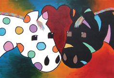 """Crossed Love"" by Hannah H., 7th Grade, Ontario, Canada, 2012 Embracing Our Differences Exhibit, via embracingourdifferences.org"