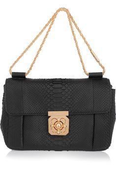 Chloé | Elsie python shoulder bag