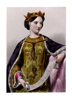 Margaret of France, 1279-1318, 2nd Queen consort to Edward I Longshanks of England (1239-1307, ruled 1272-1307) Married: 9/08/1299 (Edward was 60) but was never crowned. The couple had 2 sons and a daughter. Margaret was a daughter of Philip III of France and Maria of Brabant