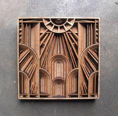 Laser-Cut Wooden Artwork – Fubiz Media