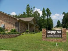 Kingdom Hall in Arkansas we saw on vacation