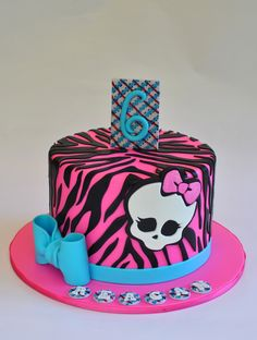 Monster High Cake, Hopessweetcakes@gmail.com