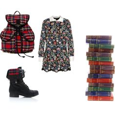 """Domani scuola"" by workingincloset on Polyvore  #workingincloset #valentino #fashionstylist #blogger #workingincloset  http://workingincloset.blogspot.it/"