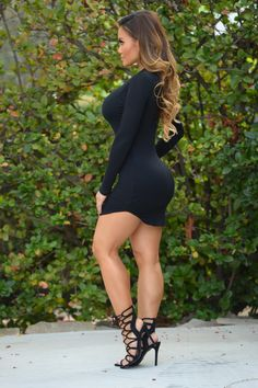 Beverly Hills Tunic - Black