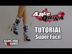 Como fazer sapato para Barbie - YouTube