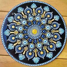 Dot Art Painting, Mandala Painting, Stone Painting, Mandala Painted Rocks, Mandala Rocks, Mandala Doodle, Mandala Art, Mandala Design, Stone Art