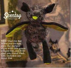 Vlad the Bat!! http://jennyhermel5.scentsy.us