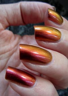 Nailtastic: Sally Hansen Nail Prisms Amber Ruby