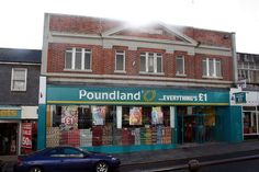 Penzance Poundland Cornwall, Street, Places, Buildings, Roads, Lugares