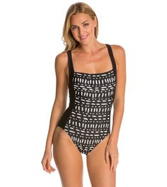TYR Milos Aurora One Piece Swimsuit at SwimOutlet.com - Free Shipping 43d1e6df7