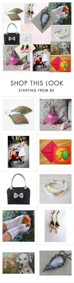 """""""thank you poletsy set"""" by iwona-sikorska ❤ liked on Polyvore featuring Maileg"""