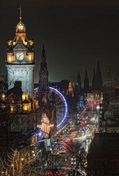 Édimbourg, en Écosse