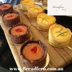 Which would you choose? #Bloodorange or #lemoncurd #tarts at Breadfern Bakery: 308 Chalmers St, Redfern NSW. Check us out at http://www.Breadfern.com.au & follow us on http://FB.com/Breadfern #breadfern #breadfernbakery #breadfernbakery #breadfernredfern #redfern #organicbakery #organic #sydneybakery #sydney #bakery #yummy #delicious #yum #fruittarts #tart #pastry #pastries #baking