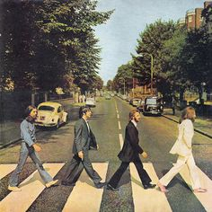 Beatles - Abbey Road Walking across is awesome! something every beatles fan has to have on a shirt