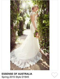 Essence of Australia wedding dress