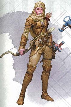 RPG Female Character Portraits: Photo