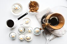 Snowman Affogato recipe - www.iamafoodblog.com