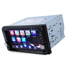 7 inch 2 din Car DVD Player Bluetooth Touch Screen Car Video Player Stereo Bluetooth with Remote Control for Toyota