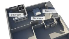 This is a lay out-sketch showing Oscar's house where the incident happened