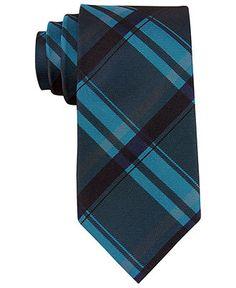 Calvin Klein Tie, Skinny Technic Bright Color Block - Mens Ties - Macy's