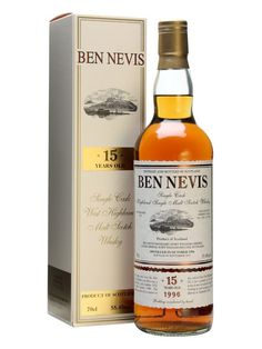 Ben Nevis Single Cask Highland Single Malt Scotch Whisky 15 YO