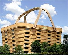 The World's Largest Basket, in Newark, Ohio