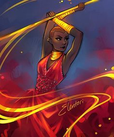 Okoye art by Elentori - Black Panther Dora Milaje Black Panther Marvel, Shuri Black Panther, Marvel Dc Comics, Marvel Fan Art, Loki Thor, Bucky, Marvel Universe, Wakanda Marvel, Captain America