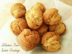 米粉で作るサーターアンダギー《乳・グルテンフリーの米粉ドーナツ》 | 型にはまったお菓子なお茶の時間